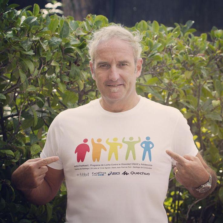 Me pongo la camiseta de Internet Contra la Obesidad. Mi amigo @arielbrailovsky ha tenido una idea y nos ha embarcado en un proyecto genial: combatir la obesidad infantil y adolescente.  Estamos armando un evento con una serie de conferencias profesionales para recaudar fondos para así lanzar la fundación y desde allí el programa de lucha contra la obesidad infantil.  Súmate: Ponte la camiseta.  #EventoICLO #InternetContraLaObesidad