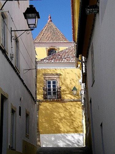 Palácio Amarelo, Portalegre, Alentejo, Portugal.