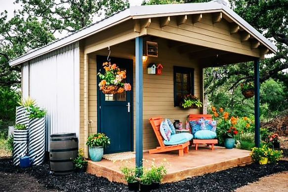 Community First Village, a to-be-created project in the Austin, Texas, area, compact living solutions are to become housing for the homeless.