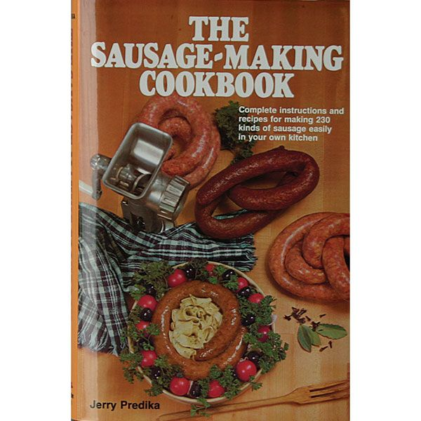 The Sausage Making Cookbook by Jerry Predika. 230 sausage-making recipes from around the world, including tips on equipment and techniques. LEM Products | The Leader In Game Processing