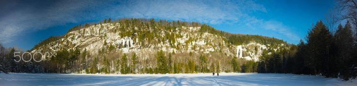 Mountain in Winter - Mountain in winter