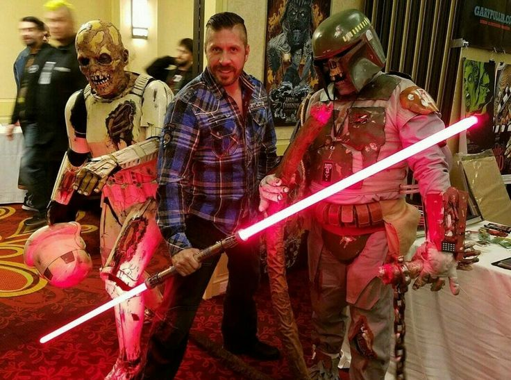Ray Park, Death trooper, and Death Fett