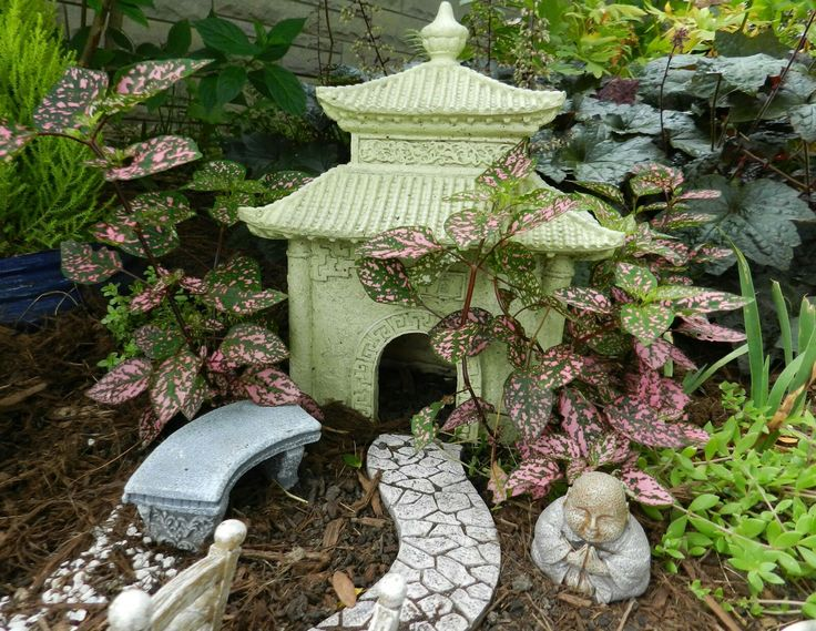 Welcome to My Japanese Garden 15 best Japanese miniature garden images on Pinterest   Japanese  . Fairy Garden Ornaments Ireland. Home Design Ideas