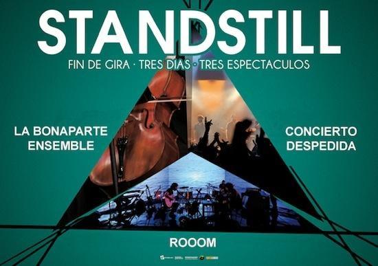 Standstill. Entradas por 35€ en ticketea.com