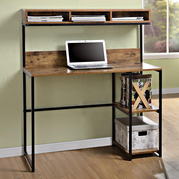 Homestar Computer Desk with Hutch | AllModern