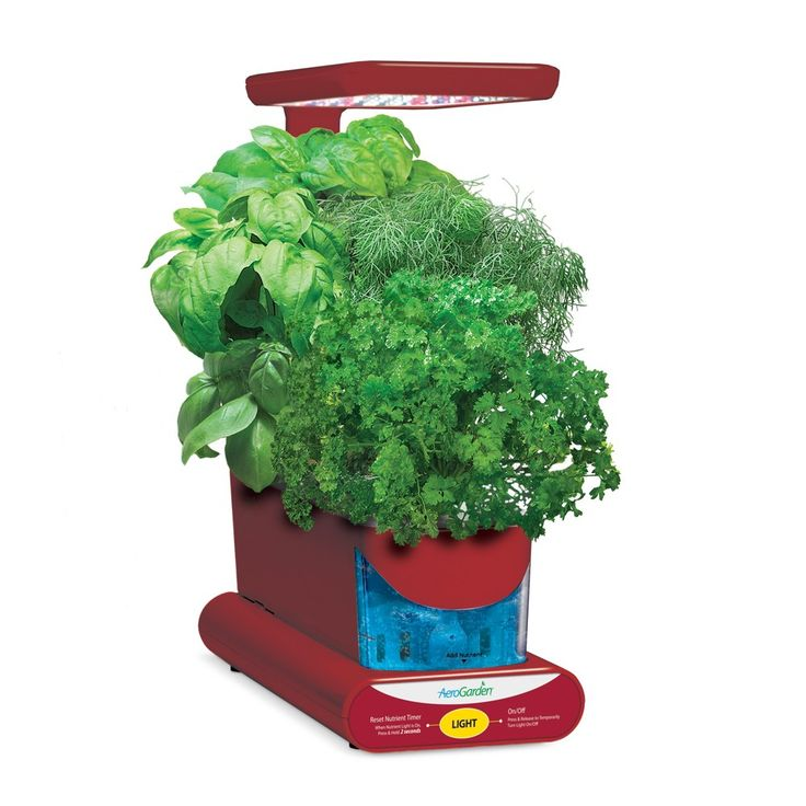 Miracle-Gro AeroGarden Sprout Led with Gourmet Herb Seed Pod Kit -