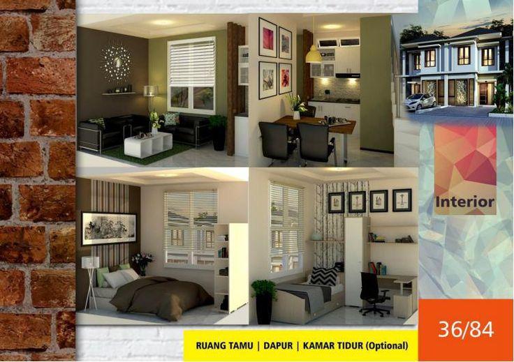 #Algira #Townhouse 1 #Kota #Bogor #Desain #Interior Type 36/84 #rumahdijual #rumahmewah #property #propertysyariah #realestate bit.ly/ATH123