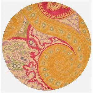 Rug gold pink round bei DuckDuckGo