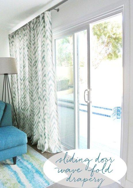 17 best ideas about sliding door treatment on pinterest