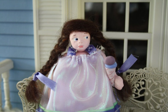 OOAK Handmade doll by ToffieDolls on Etsy, $20.00