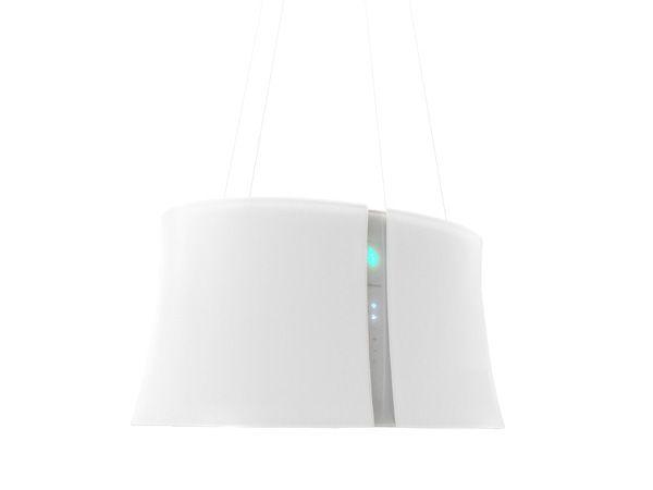 Zephiro is an elegant cooker hood designed by Emo design for Falmec.