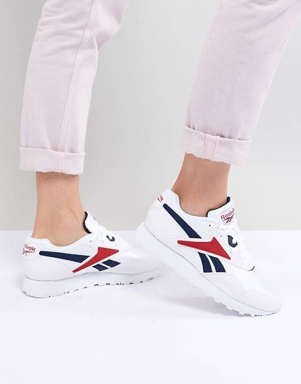 Reebok Rapide Og In White Sneakers, Dame-modebutikker  Sneakers, Womens fashion stores