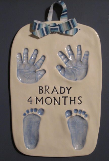 Cutie Pies Clay Print Keepsakes - Price List for Custom Ceramic Handprint Impressions and Personalized Gifts