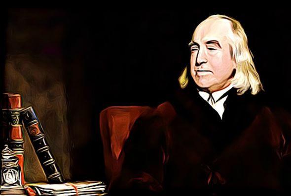 Jeremy Bentham fue un filósofo, economista, pensador y escritor inglés que nació en Londres en 1748 y falleció en 1832.