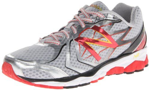 New Balance Men's M1080 Running Shoe,Silver/Red,8 4E US. Synthetic, Mesh. Weight: 10.2 oz (292g). N2 Burst forefoot response system. ABZORB Crash Pad in heel. No-sew upper. T-beam stability shank. Rubber sole. China. ACTEVA Lite midsole. Imported. 8mm heel-to-toe drop.
