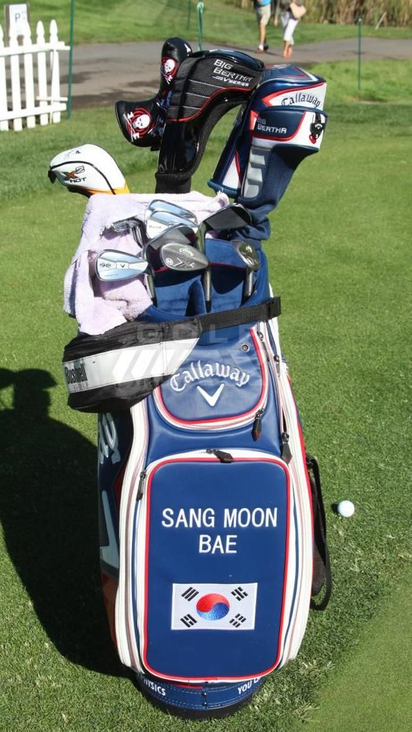 Sang Moon Bae What's in the bag #golf #WITB #Callaway