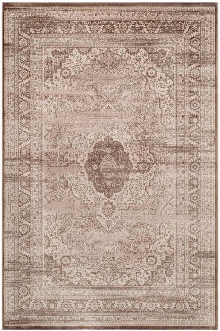 rug vtg264a vintage rug collection color beige light brown traditional - Safavieh Rug