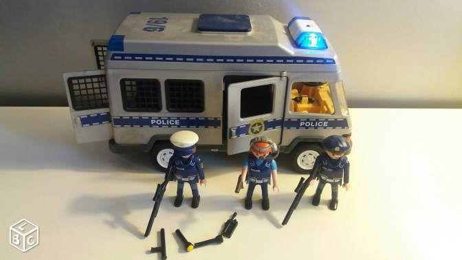 camion de police playmobil