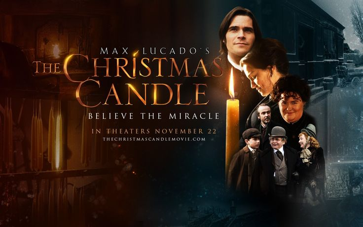 The Christmas Candle - In Theaters Nov. 22 - Official HD Movie Trailer  Now I must read the book.