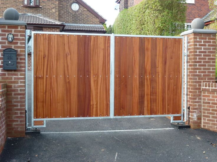 Best 25 Automatic Driveway Gates Ideas Only On Pinterest Driveway Gate Entrance Gates And