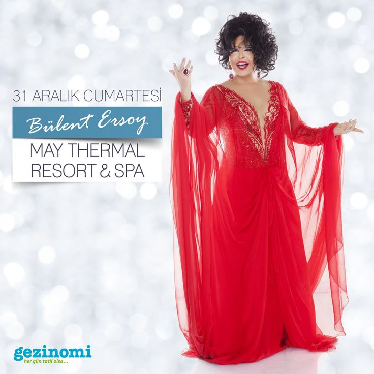 31 Aralık yılbaşı gecesi, Bülent Ersoy ile May Thermal Resort & Spa'dayız.  Sen de yılbaşı eğlencesini doyasıya yaşamak istiyorsan hemen yerini hazırla   Bilgi almak için ☎ 0850 466 77 44
