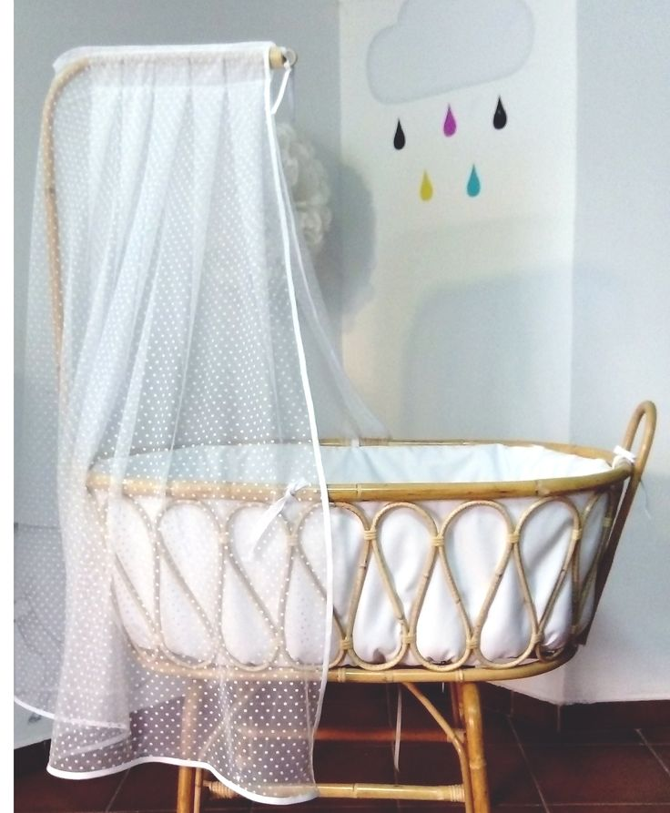 34 best Minicunas / Moises Mimbre images on Pinterest | Baby room ...