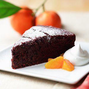 Chocolate Satsuma Cake