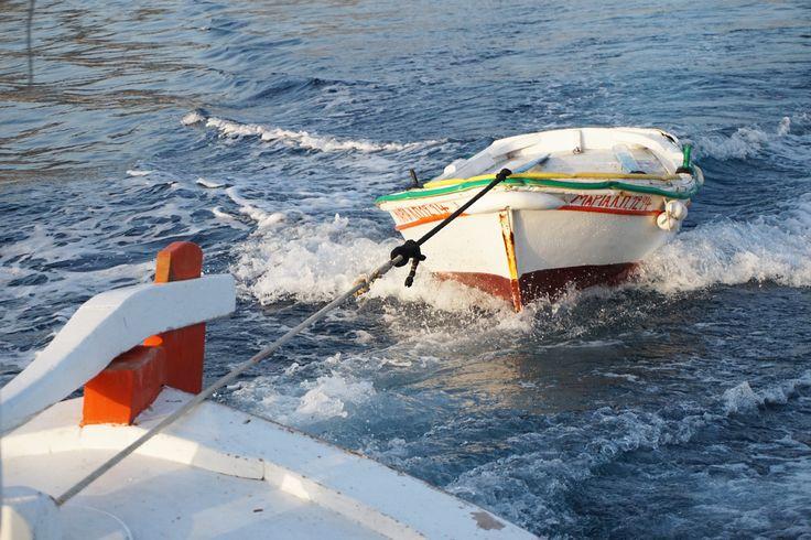 fishing boat wedding antiparos greece island blue sea ideas
