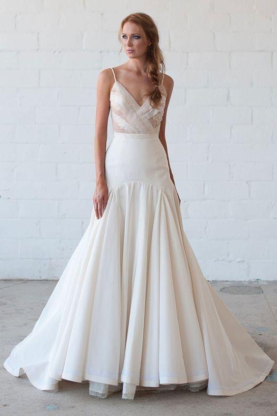 50+ Totaly Adorable Elegant Wedding Dresses Ideas20