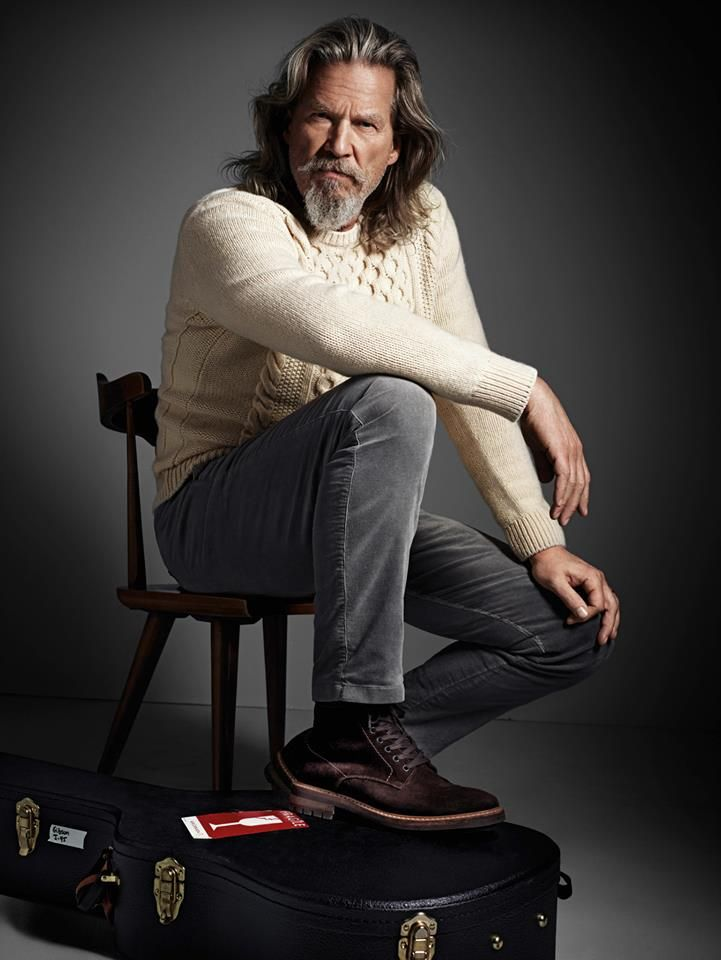 la_gatta_ciara: Актер Джефф Бриджес в рекламе Marc O'Polo.