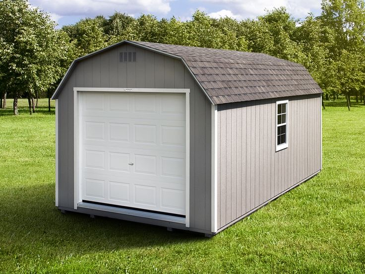 The Gambrel Garage Shed | Woodtex