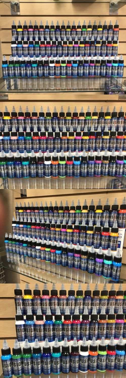 Tattoo Inks: Fusion Tattoo Ink Professional 60 Color 1 Ounce Set 100% Authentic Free Shipping -> BUY IT NOW ONLY: $635.55 on eBay!