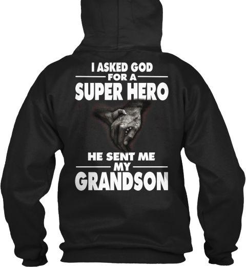 limited edition grandson t shirts black sweatshirt back - T Shirt Design Ideas Pinterest