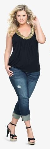 JUST IN!! Stitch Fix Plus Size fashion! 2017 fashion trends up to size 24W & 3XL. Have your own personal stylist picked items just for you & delivered to your door. No stress shopping in stores! Your curves, your style! #sponsored #stitchfix