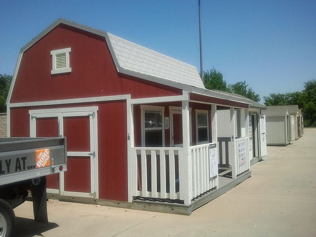 Tb 700 With Side Porch By Tuff Shed Storage Buildings