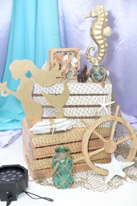Under the Sea Baby Shower Party Ideas | Photo 9 of 33