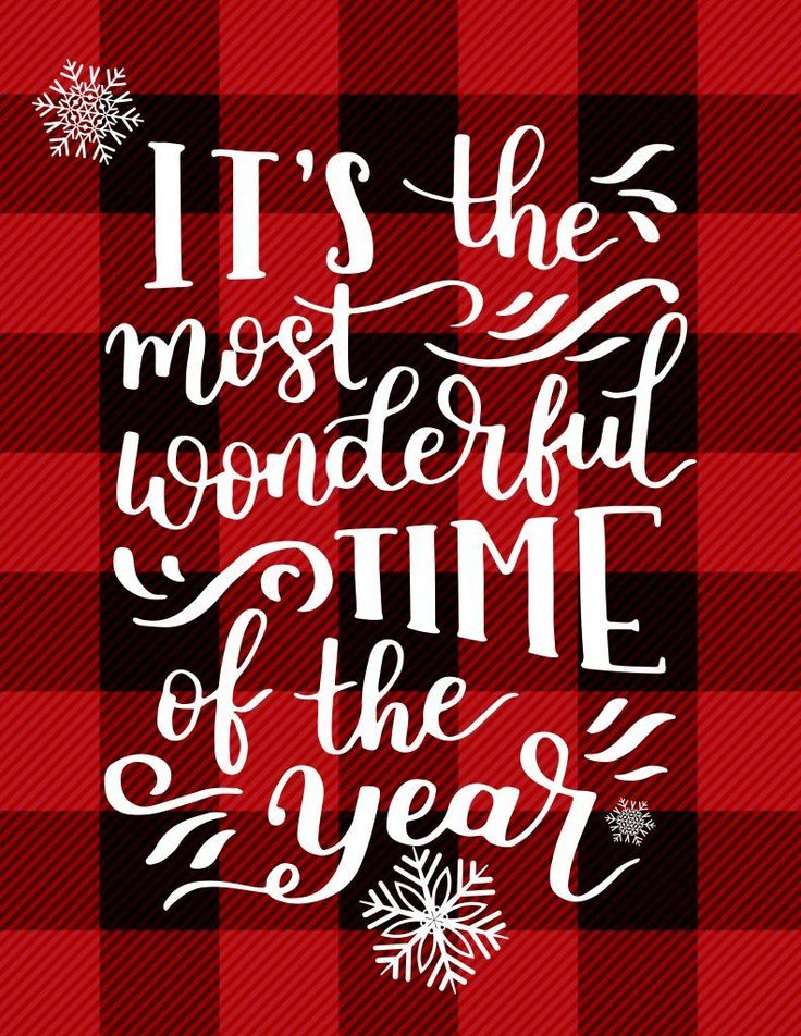 Most Wonderful Time of the Year {Free Printable