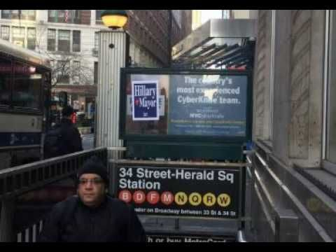 Look What Hillary Clinton Was Just Caught Doing In New York City… - YouTube