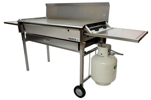 Heatlie HM1150SSL Solid Hotplate in S/Steel body  Heatlie Barbecues are the Toughest Solid Flatplate BBQs in the Country. Made in Australia using the finest materials and solid construction techniques, you get a bbq that's built to function and last.