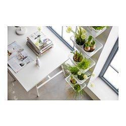 IKEA - ALGOT, Wandschiene/Kasten, Die Teile der ALGOT Serie lassen sich vielseitig kombinieren und können so dem Bedarf und dem vorhandenen Platz angepasst werden.Auch für Badezimmer und andere Feuchträume im Haus geeignet.Konsolen werden einfach dort in ALGOT Wandschienen eingehängt, wo Böden und anderes Zubehör gewünscht wird - kein Werkzeug erforderlich.