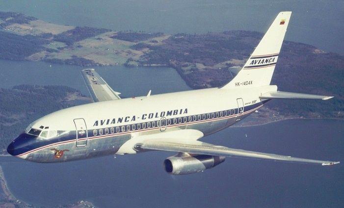 Resultado de imagen para boeing 737 avianca
