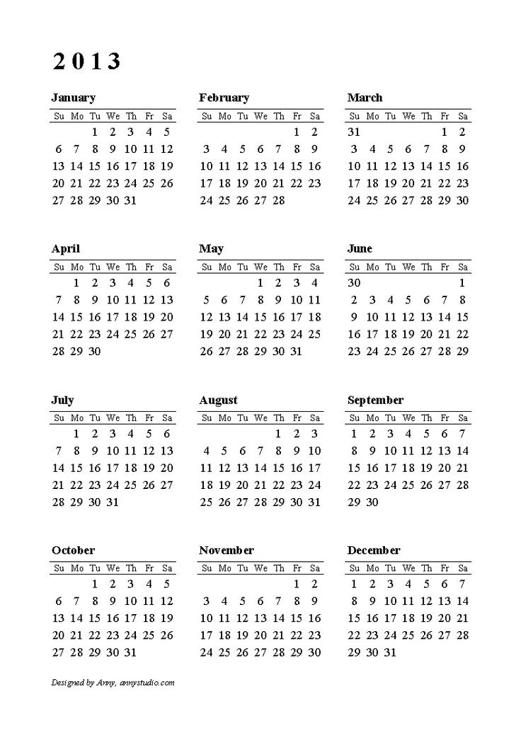 74 best printable calendars images on pinterest