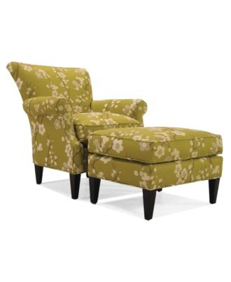 Maya Pear Accent Ottoman - Chairs & Recliners - furniture - Macy's: Living Rooms Accent, Living Rooms Chairs, Pears Accent, Pears Living, Shops, Livingroom, Living Room Accents, Accent Chairs, Maya Pears