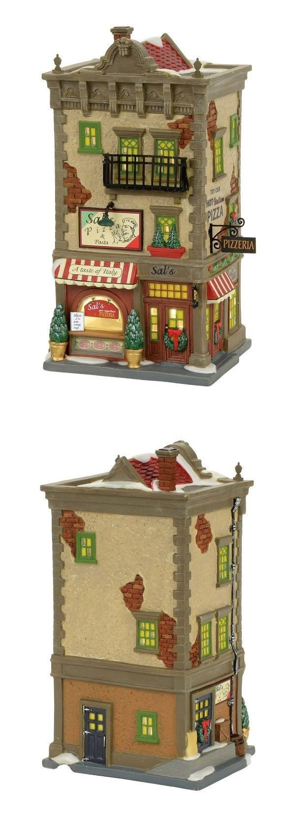 Christmas Collectible Department 56: Dept 56 Christmas In The City Sals Pizza And Pasta Brand New 2017 Free Shipping -> BUY IT NOW ONLY: $114.75 on eBay!