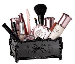 AnnSui Cosmetic Makeup brush Organizer case holder J12