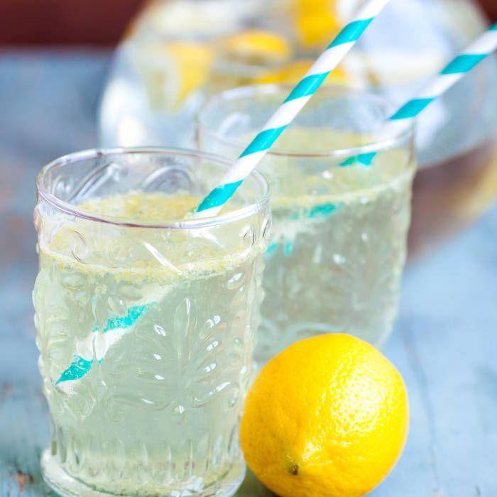 Galet nyttig lemonad med ingefära - Mitt Kök