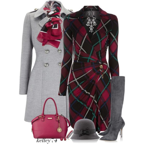 A fashion look from December 2013 featuring Gucci dresses, Wallis coats y Casadei boots. Browse and shop related looks.
