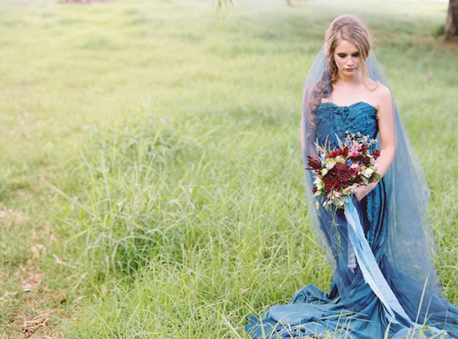 Indigo Wedding Inspiration From Maui