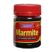 MARMITE- ok so its also exists elsewhere, but many kiwis are very passionate about Marmite. Marmite made the news recently when stocks ran low due to the Christchurch Earthquake.  was once seen on n.z. shores & even brekkee toast;  but alas almost completely extinct