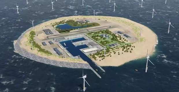 The North Sea Wind Power Hub an artificial island in the North Sea that could supply renewable energy to 80 million people in Europe is set to open in 2027. http://ift.tt/2COX6KN